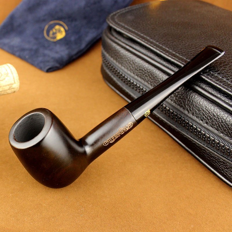 6 Smoking Tools Set Wooden Tobacco Pipe Ebony Smoking Tobacco Pipe High Quality Pipe for smoking tobacco 555BH(China (Mainland))