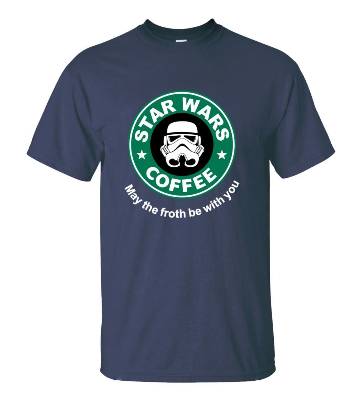 2016 New Arrival Cool star wars T Shirt funny COFFEE Printed T-shirt Men's Short Sleeve O-Neck Streetwear HipHop Summer Tops Tee  HTB11sFOMXXXXXXRXFXXq6xXFXXXh