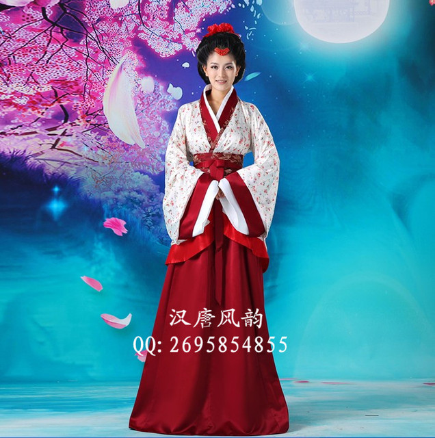 Traje De Baño Antiguo Mujer:Traje dinastía tang de la mujer cos hanfu novia de estilo chino novia
