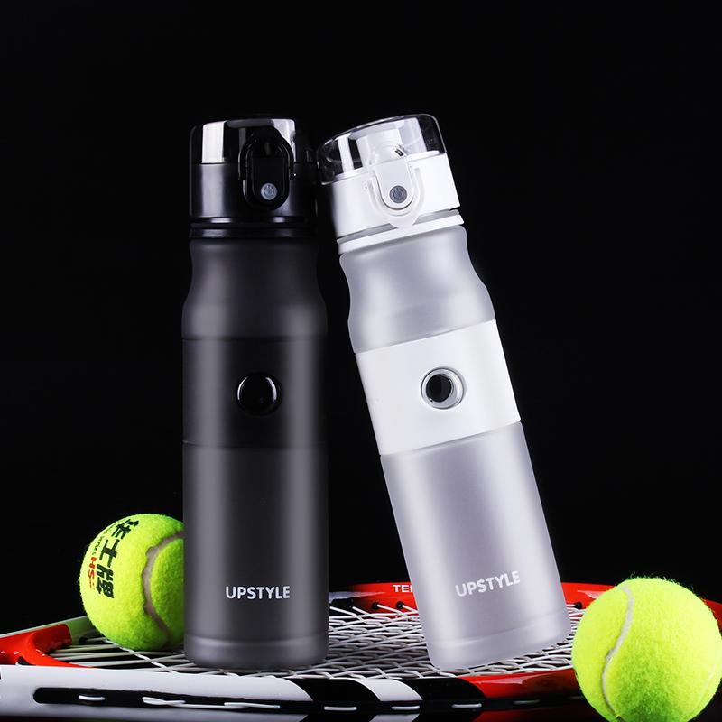 New Design Sport Water Bottle Plastics Bottle My Out Door Sport Bottle Scrub Surface 620ml Bottle(China (Mainland))