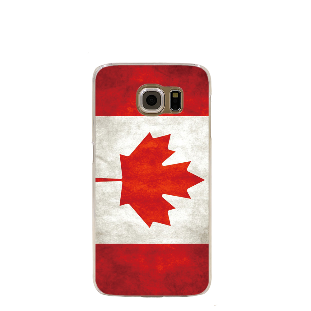09856 Retro Canada National Flag cell phone case cover for Samsung Galaxy S7 edge PLUS S6 S5 S4 S3 MINI(China (Mainland))