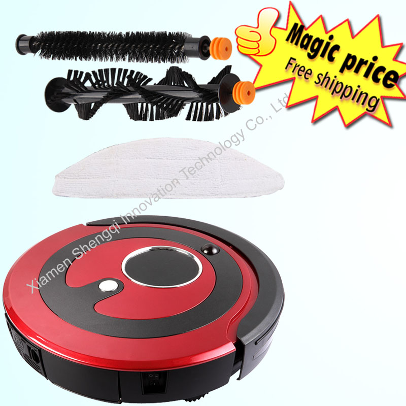 Household automatic intelligent robot vacuum cleaner sweeper cyclone dust collector(China (Mainland))