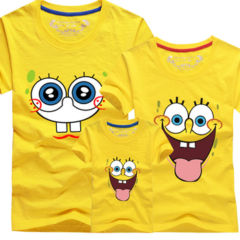 Minions famili look Boys Girls T Shirt Plus Mom And Me Father and Son Suits Mother Father Baby Minions t shirts family matching