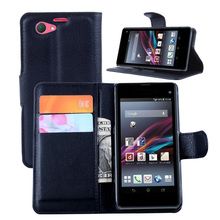 """Buy Wallet PU Leather Case Sony Xperia Z1 Compact/Z1 Mini D5503 M51W 4.3"""" Magnetic Filp Cover Fundas Holder Stand Cell Phone Bag for $3.11 in AliExpress store"""