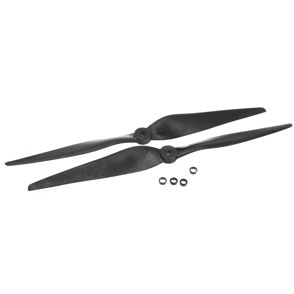"One Pair 1150 11*5"" Carbon Fiber CW/CCW Propeller Prop for DJI F450 F550 Tarot FPV Quadcopter Multirotor Part for RC Plane(China (Mainland))"