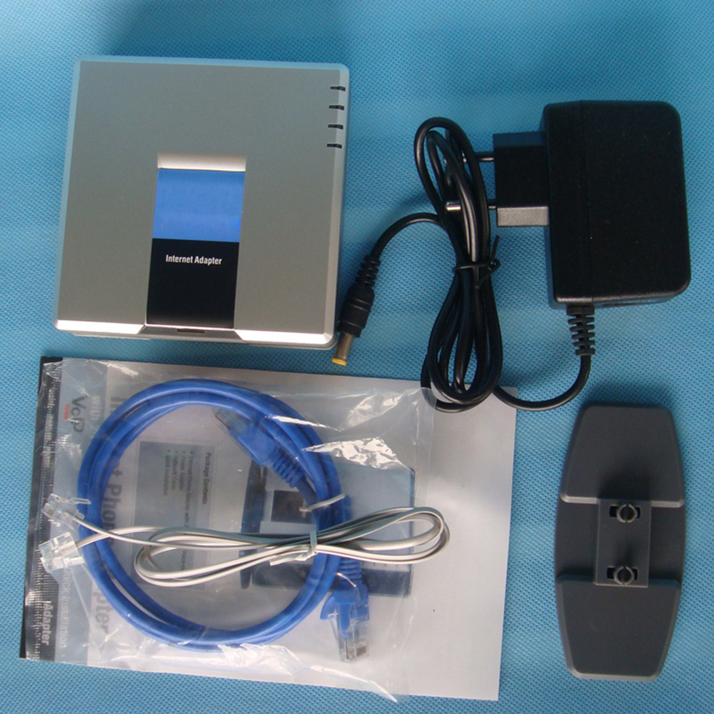 New Cisco Linksys SPA2102 SPA2102-NA Phone Adapter With Router Unlocked(China (Mainland))