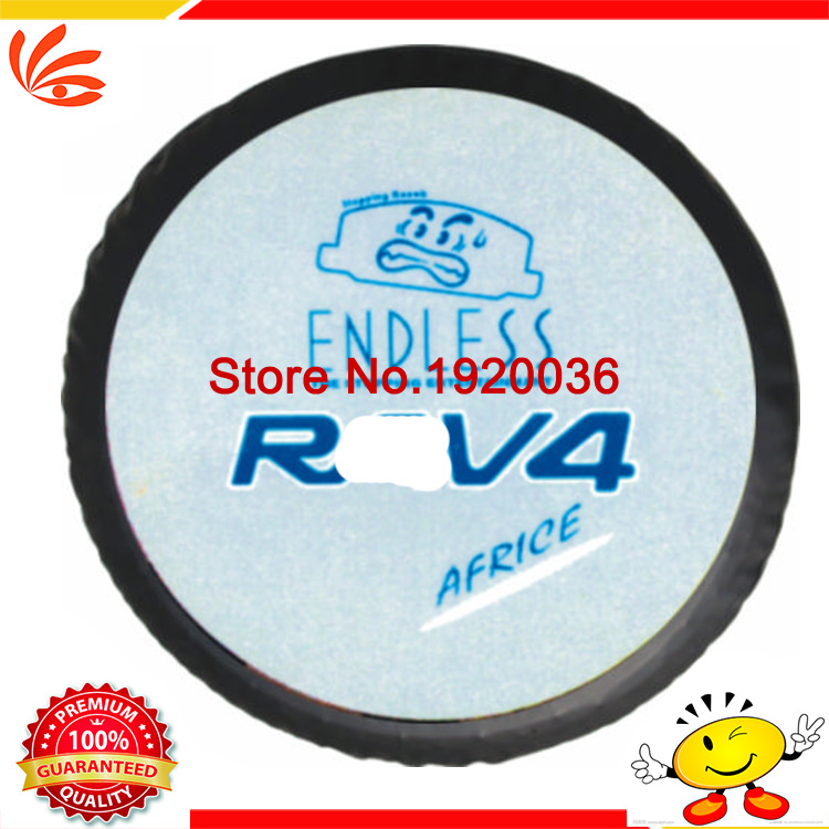 """Car styling high quality For TOYOTA RAV-4 RAV4 spare tire cover custom off-road 14"""" 15"""" 16 """"17"""" PVC spare wheel cover(China (Mainland))"""