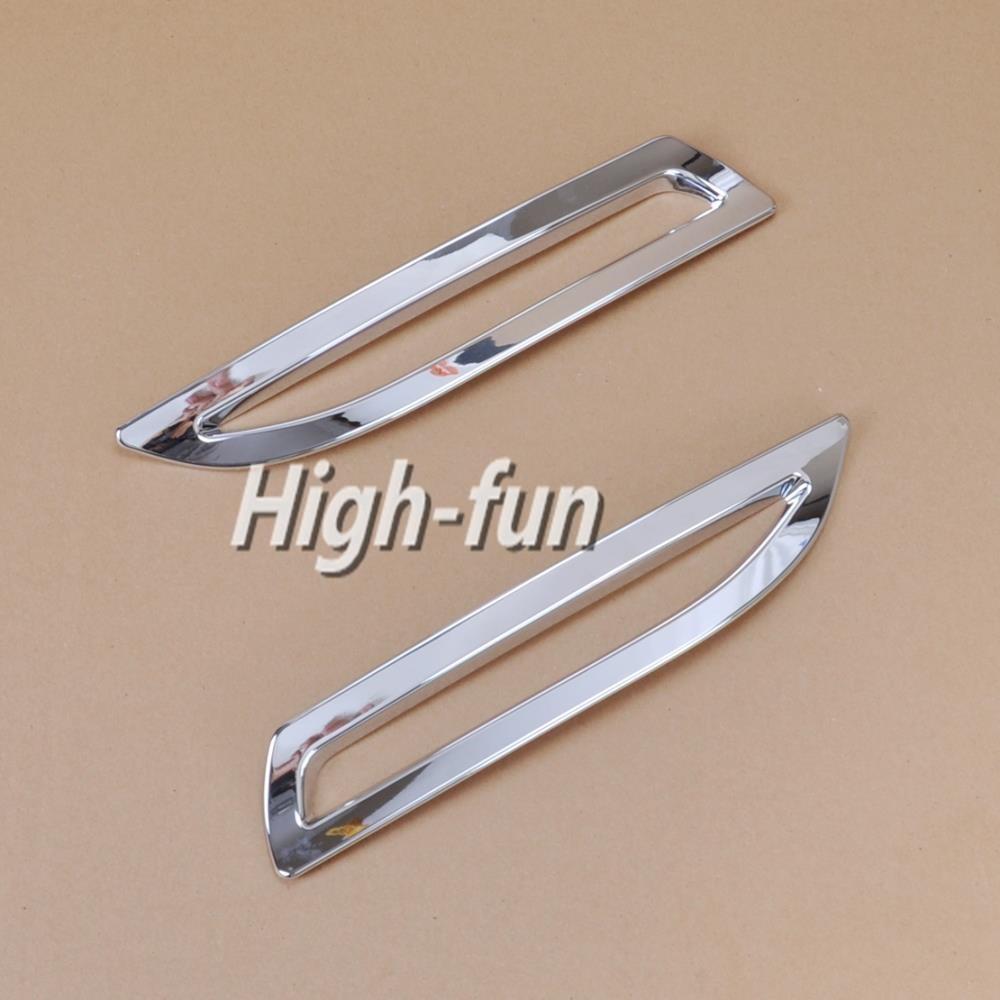 2 x литье отделкой крышки для honda accord новый хром задние противотуманные лампы бесплатно падение судоходство