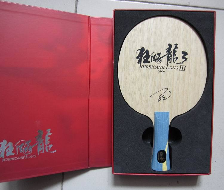 Original NEW DHS Hurricane Long 3 professional table tennis blade special for the world champion Mr. Ma Long racquet sports(China (Mainland))