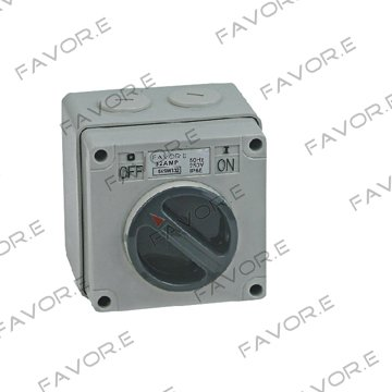 *50A three phase 3 pole Weather protected Isolator switch IP66 56SW350<br><br>Aliexpress