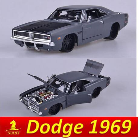 Free Shipping High Imitation 1:24 Dodge 1969 Challenger Muscle Car Model Collectable Car Decoration Children Popular Car Toys(China (Mainland))