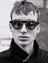 Vintage Round Classic Double Layer SteamPunk Style Sunglasses