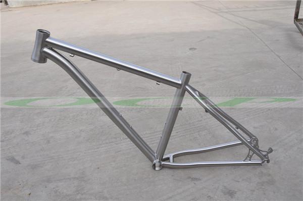 2015 Lastest Titanium MTB Frame 27.5er Bicycle Frame with Free Seatpost(China (Mainland))