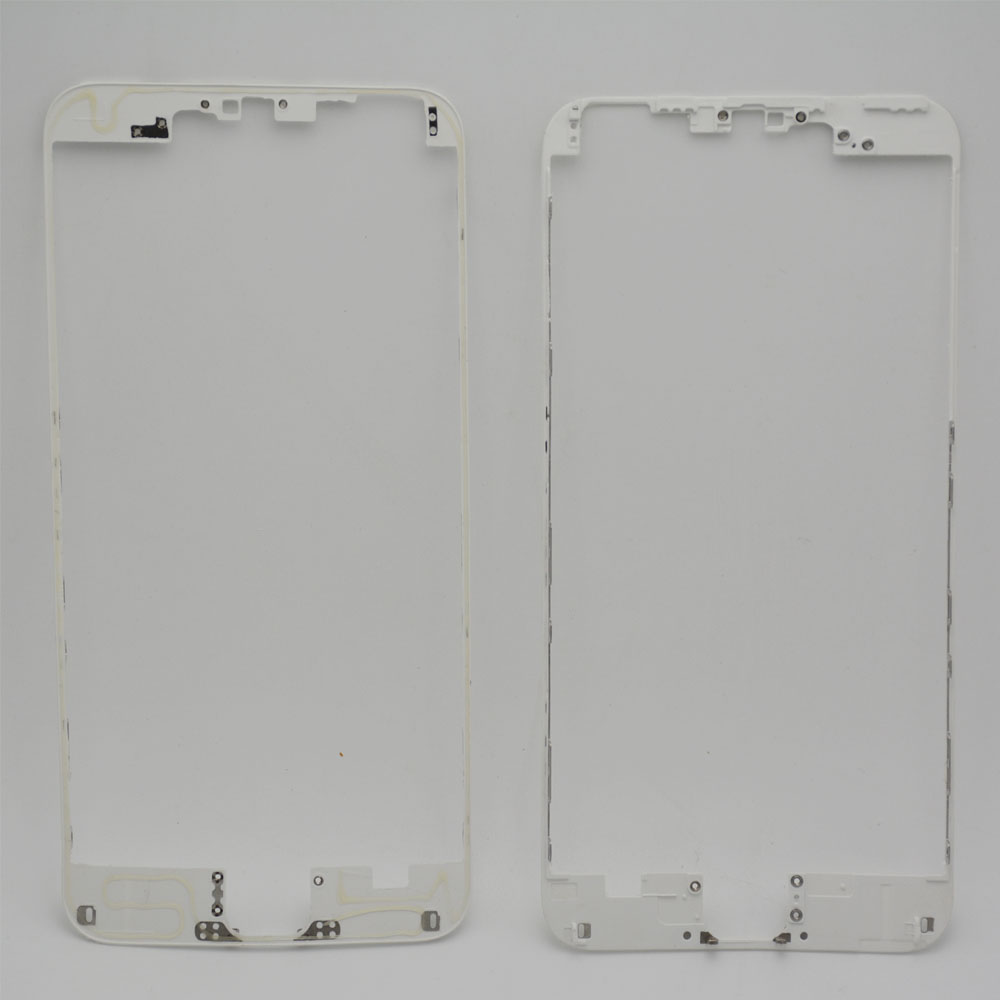 1Front LCD Frame Hot Glue iPhone 6 plus touch screen Display Bracket Housing Middle Bezel White/Black - Cell Phone Repair store