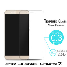 New 9H For Huawei Honor 7i Tempered Glass For Huawei MATE 2 Explosion Proof Anti Shatter Screen Protector Film +Clean Cloth