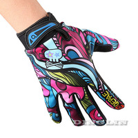 Men Women Gloves Cycling Racing Multicolor Shockproof Motorcycle Bike Ciclismo Full Finger Gel Plus Size Free Shipping MTB9014
