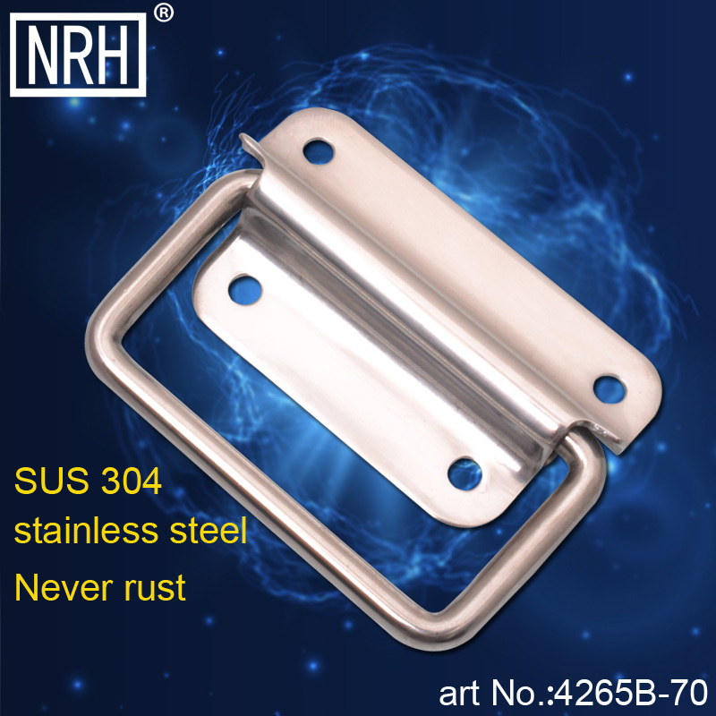 NRH 4265B-70 Stainless steel chest grab handle Factory direct sales Wholesale and retail high quality tool box grib handle(China (Mainland))