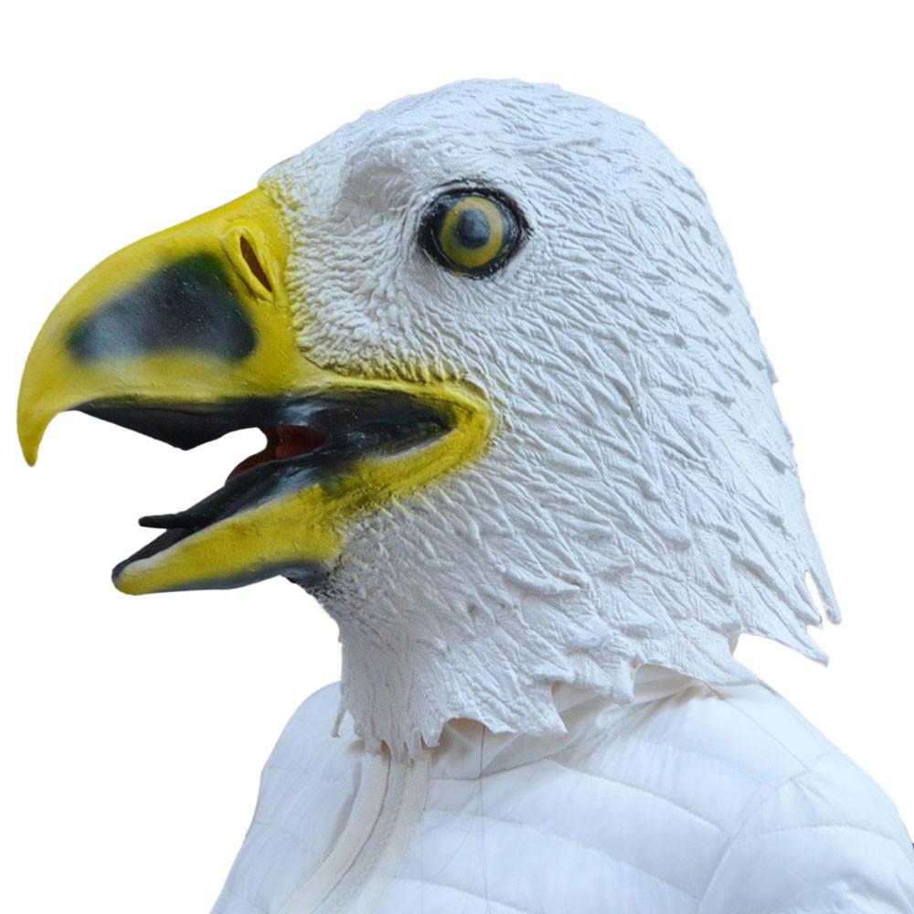 Wholesale 2016 Masquerade Masks Eagle Mask Latex Animal Costume ...
