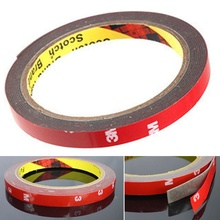 2pcs sample 3M Auto Truck Car Acrylic Foam Double Sided Attachment Tape Adhesive 6mm *3m Free Shipping