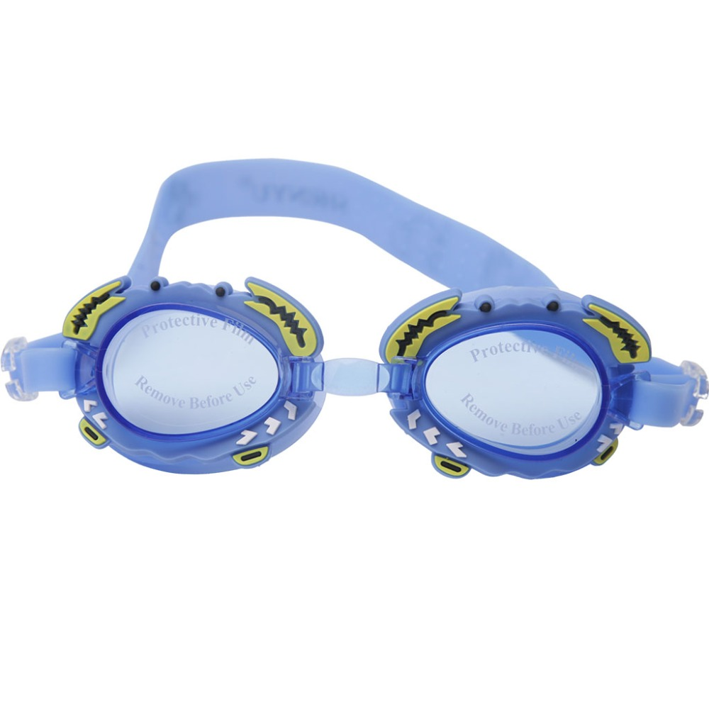 Junior Children Swim Goggles Anti-Fog UV Silicone Swim Glasses for Kids Girls Boys high quality(China (Mainland))