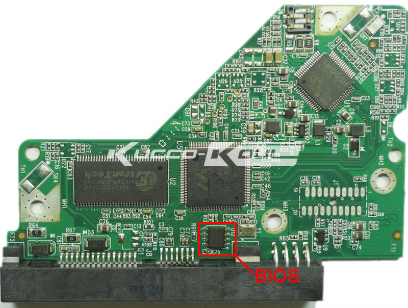 HDD PCB circuit board 2060-701640-002 REV A for WD 3.5 SATA hard drive repair data recovery(China (Mainland))