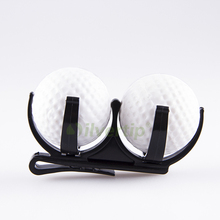Free Shipping Black Golf Accessory Golf Ball Holder Clip Magic Ball Games Prop Organizer Golfer Golfing Tool(China (Mainland))
