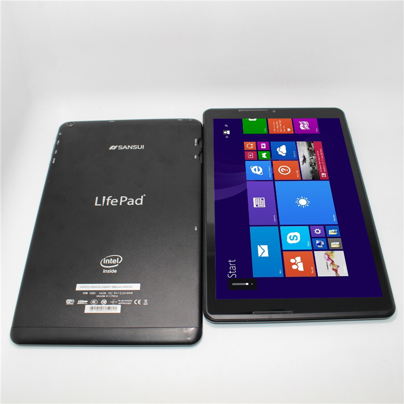 3G Compatible 10.1 inch Windows 8.1tablet Intel Atom Z373T IPS HDMI G Sensor Quad core 1280*800 1G/16G+bluetooth keyboard case(China (Mainland))