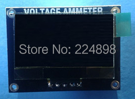 0.96 inch Yellow Blue OLED Display Module for DC voltmeter ammeter 0-50V(China (Mainland))