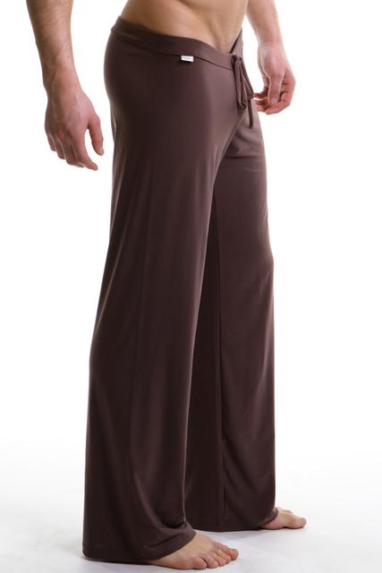 Сна днищ мужские свободного покроя брюки мягкие удобные мужские сна топы домашняя одежда йога брюки спортивные свободный салон одежды