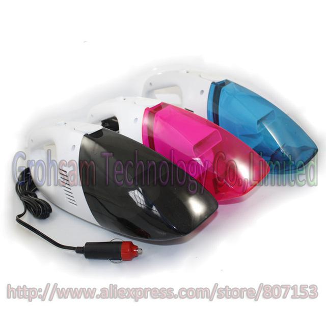 DC12V 6W Mini Portable Car Vacuume Cleaner