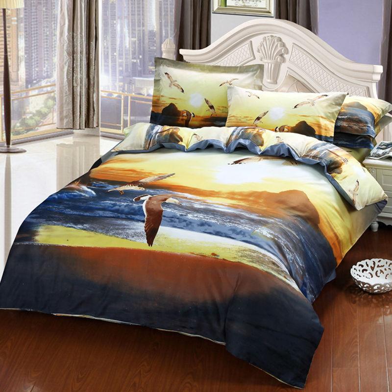 lever du soleil literie promotion achetez des lever du. Black Bedroom Furniture Sets. Home Design Ideas