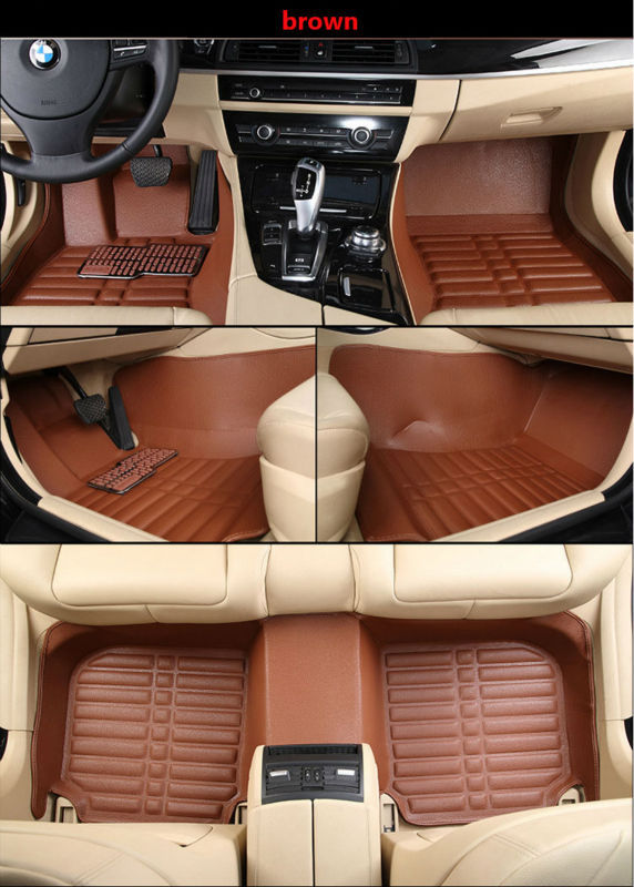 Hight-quality 5D Embossed pattern XPE materal Car accessories Car styling Car floor mats VW Santana 2009-2016 years(China (Mainland))