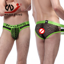 Sexy Men Underwear Breathable Mesh Mens Nylon Briefs Comfortable Mens Silk Bikini Underwear Fashion Cueca Ropa Hombre Jockstrap