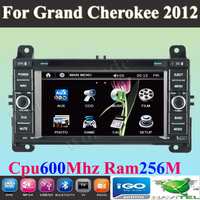 "6.2"" Car DVD player with  GPS navigation Car Stereo autoradio  for JEEP Grand Cherokee 2012  2013 2014+ Free Map"