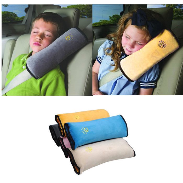 Baby Auto Pillow Car Safety Belt Protect Shoulder Pad adjust Vehicle Seat Cushion for Kids Baby Playpens(China (Mainland))