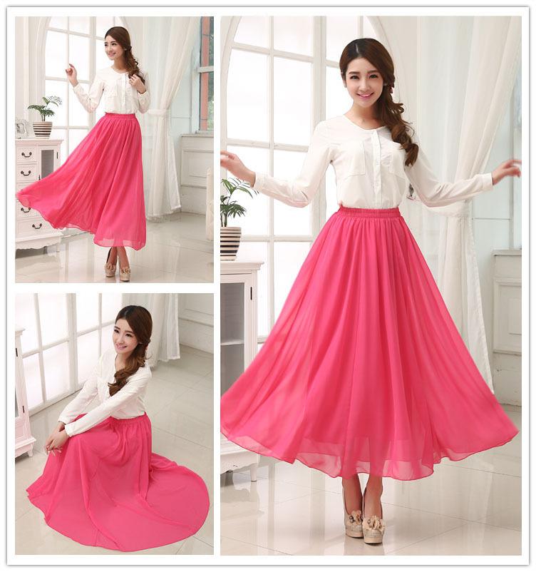 2014 new spring summer plus size women fashion maxi dress ...
