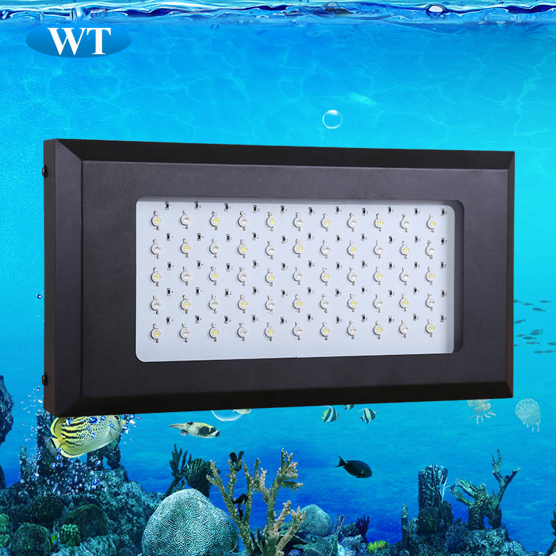 New arriver 6bands 120W led aquarium light, 55x3W,dimmable led hydroponics grow light,Free shipping !(China (Mainland))