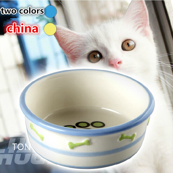 2014 hot selling free shipping cat bowl high quality china small dog bowl ceramic bowl(China (Mainland))
