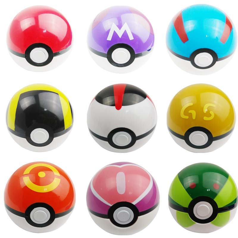 Гаджет  Free Shipping 1 Pcs/Lot ABS Action Anime Figures Pokemon balls/ PokeBall Fairy Ball Super Ball Master Ball Kids Toys Gift None Игрушки и Хобби