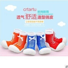 2015 new fashion baby shoes toddler socks toddler soft shoes sport baby moccasins children shoes outsole First Walkers(China (Mainland))