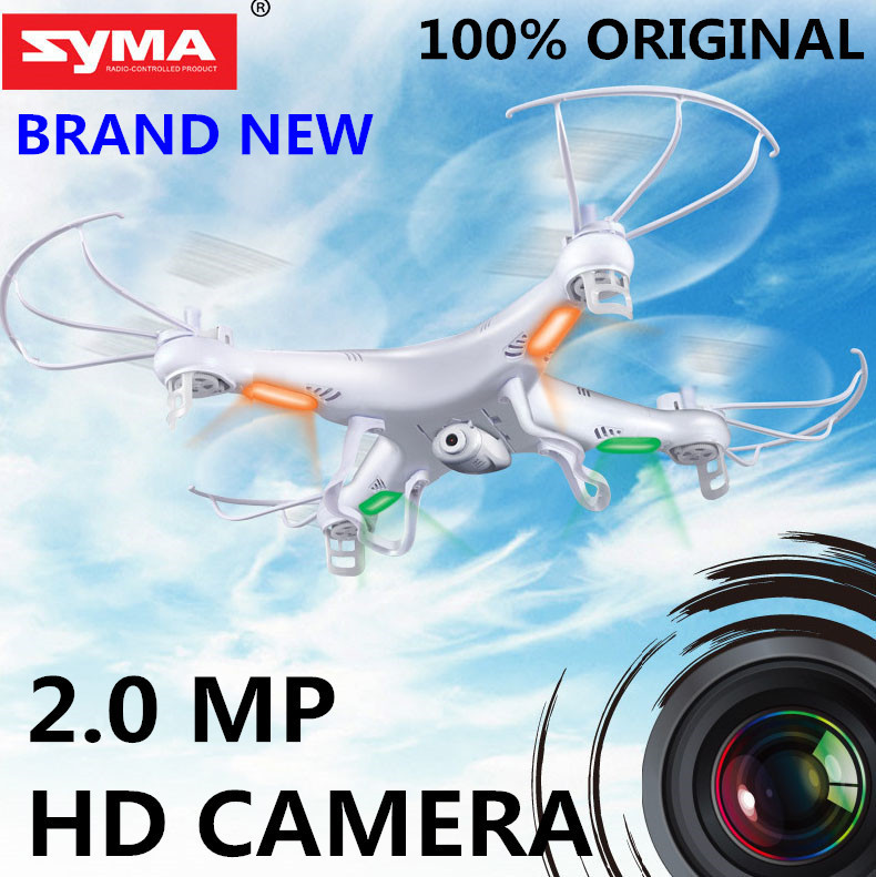Original SYMA X5C-1 2.4G 4CH 6-Axis 2.0MP HD Camera RTF Remote Control Quadcopter RC Helicopter Toys Drone or X5 without camera(China (Mainland))