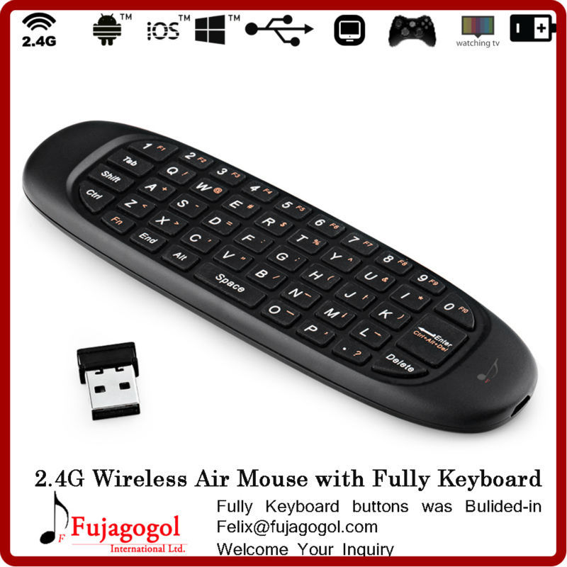 Aliexpress.com : Buy mini gyration wireless air mouse keyboard for ...