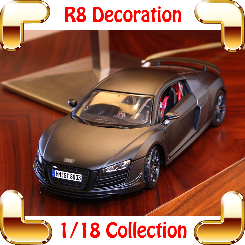 New Year Gift Maisto R8 1/18 Metallic Model Car Scale Collection For Car Fans Diecast Alloy Vehicle Luxury Present Toys<br><br>Aliexpress