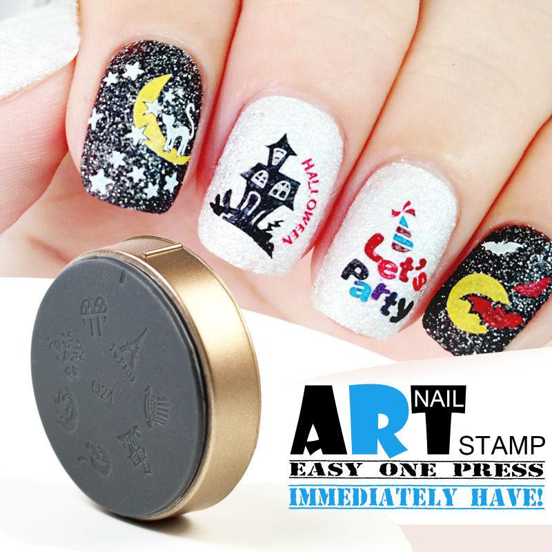 Template Nail Art Stamping Image Plates , Nail Polish Stamp Manicure ...