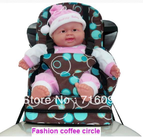 Младенцы безопасный высокая стул Seat / детская портативная раза вверх бустер-тип ...