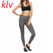 Buy KLV 2017 New Women Mesh Patch Workout Leggings Push Sexy Hip Solid Trousers Women Fashion Elastic Leggings Adventure Time for $5.78 in AliExpress store