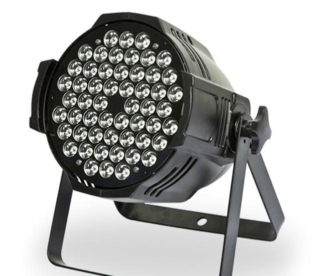 1unit  1W 54pcs RGBW/RGB  led par light  for stage Dj clubs party show 8 DMX 512 Channels  A: R18  G18 ,B18  B: R14 , G14 B14W12<br><br>Aliexpress