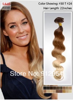 Top quality Brazilian Virgin Hair body wave Two Tone #30/24 Ombre Hair extensions 5A Grade 100% human hair<br><br>Aliexpress