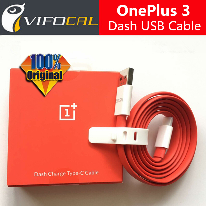 OnePlus 3 Dash USB Type-C Cable 100% Good Quality 1M Flash Charging Wire One Plus A3000 Oneplus 3T Mobile Phone  -  Vifocal Technology Co. Ltd store