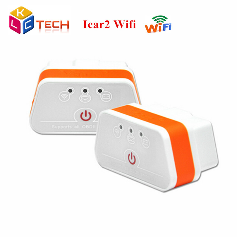 50pcs/lot Good Quality ELM327 iCar2 wifi vgate OBD Vgate Wifi iCar 2 OBDII diagnostic interface for IOS iPhone iPad Android(China (Mainland))